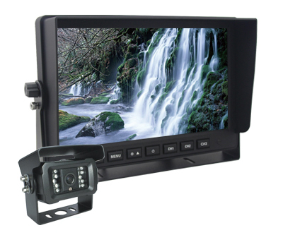 profio ahd lcd 10,1 monitor into car
