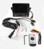 "LCD monitor 5"" for reverse cameras with adjustable bracket and sun visor"
