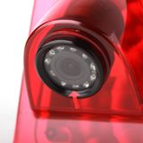 Waterproof reverse camera with 170˚ viewing angle in the brake light
