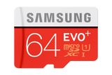 64GB memory card Samsung micro SDXC EVO Plus + SD adapter