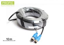 10 m quality 4 pin unshielded to the reversing camera