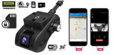 Professional dual car camera for GPS tracking + real-time cameras PROFIO tracking Cam X2