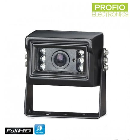 FULL HD camera for reversing with IR night vision up to 10 m