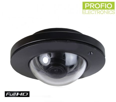 FISHEYE - widescreen, 150° camera with FULL HD 1920x1080 resolution